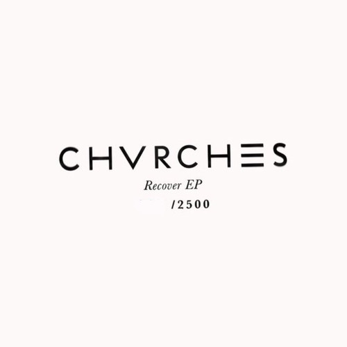 Chvrches - Recover EP (2014 Orange Vinyl Numbered #1395/2500)