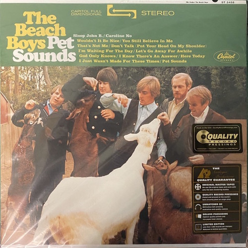 The Beach Boys - Pet Sounds (200g 45rpm Stereo Analogue Productions)