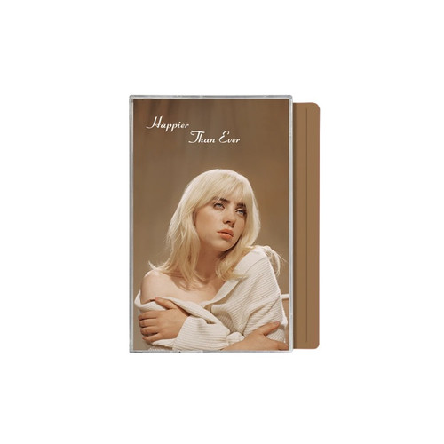 Billie Eilish - Happier Than Ever (Limited Edition Brown Cassette)
