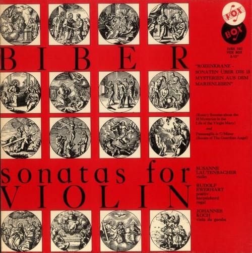 Heinrich Ignaz Franz Biber - Sonatas For Violin (Sealed)