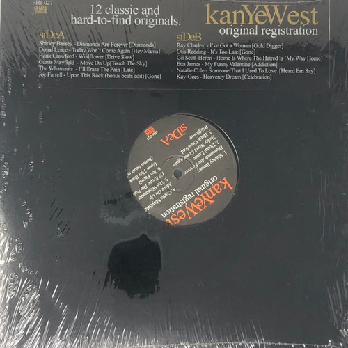 Kanye West / Various - Original Registration: 12 Classic and Hard-To-Find Originals (Unofficial Compilation)