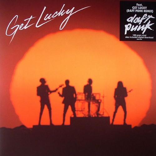 """Daft Punk - Get Lucky: Daft Punk Remix (2013 12"""" Single)"""