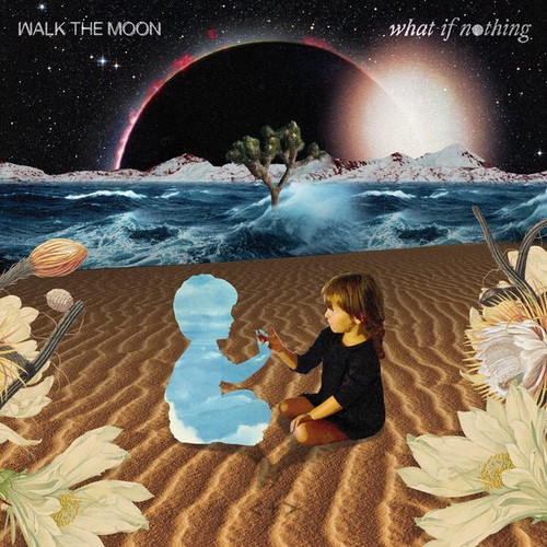 Walk The Moon - What If Nothing (US 2017 Purple Swirl and White Vinyl)