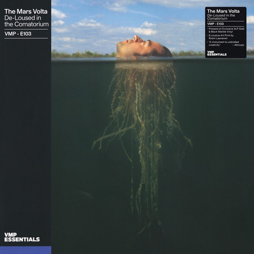 The Mars Volta - De-Loused In The Comatorium (2021 Vinyl Me Please Essentials Limited Edition 2LP on Gold and Black Marble Vinyl)