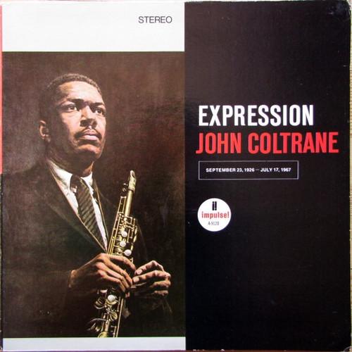 John Coltrane - Expression (1973 USA NM vinyl)