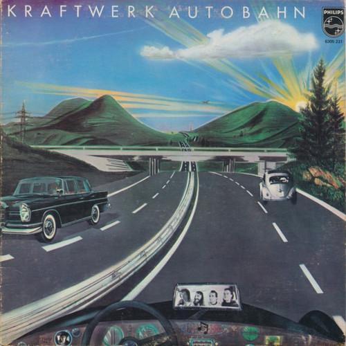 Kraftwerk - Autobahn (1974 1st Pressing - Vinyl is NM)