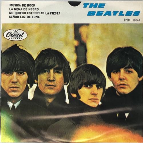 """The Beatles - Musica De Rock (Mexican 70's 7"""" EP)"""