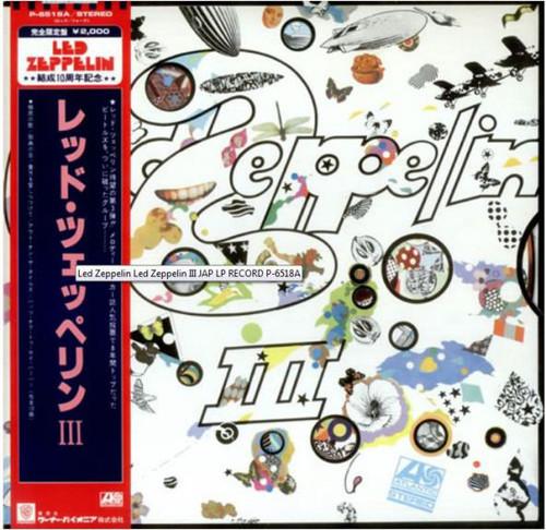 Led Zeppelin - III (Japan)