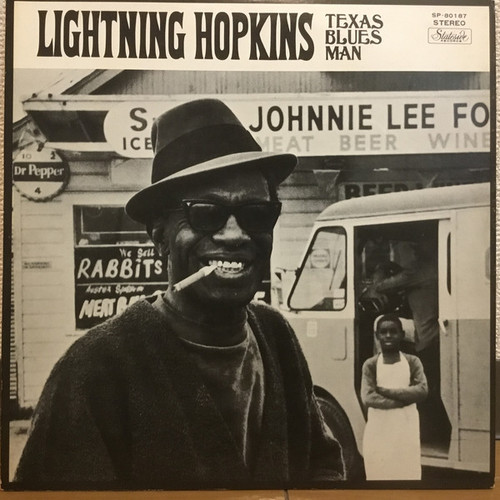 Lightning Hopkins - The Texas Bluesman (Japan)