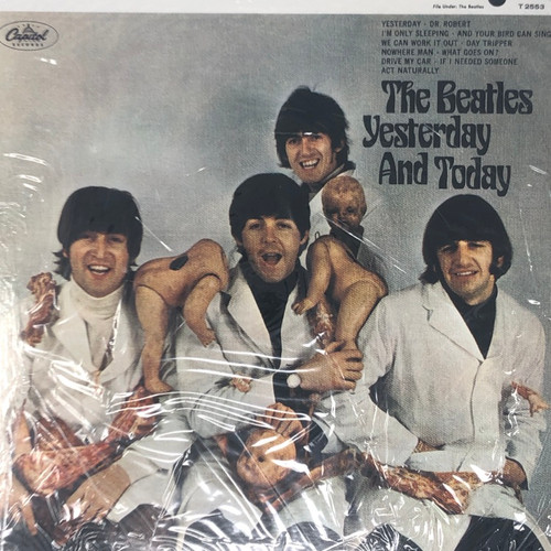 The Beatles - Yesterday And Today (Blue Vinyl Counterfeit in Open Shrink)