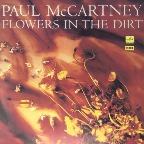Paul McCartney - Flowers in the Dirt (Russian Pressing on Red Labels)