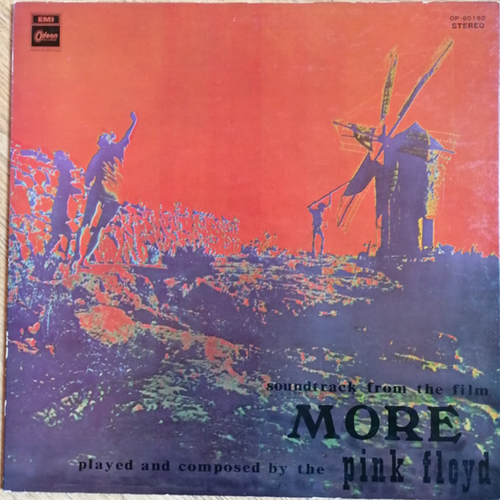 """Pink Floyd - Soundtrack From The Film """"More"""" (Red Wax - Japan)"""