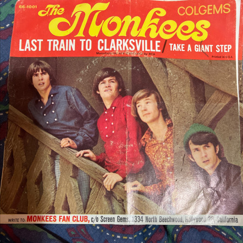 The Monkees - Last Train to Clarksville (US Picture Sleeve)