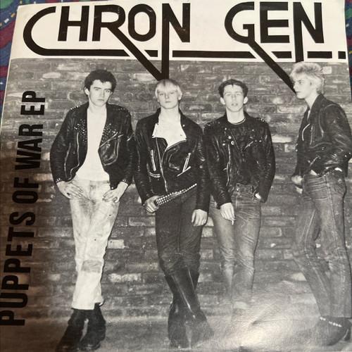 Chron Gen -Puppets of War (Picture Sleeve Punk 45 )