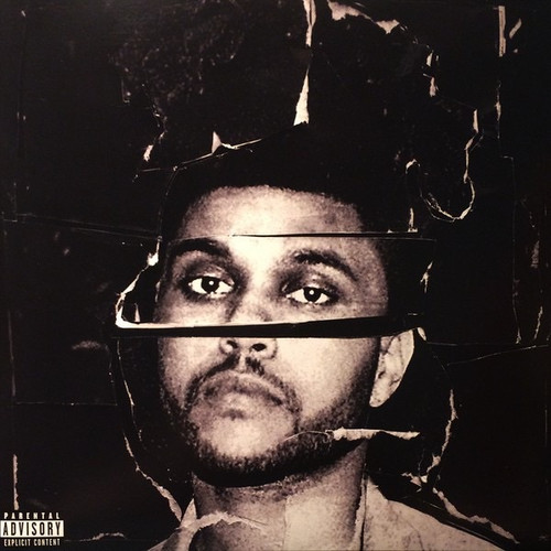 The Weeknd - Beauty Behind The Madness (2015 on clear vinyl)