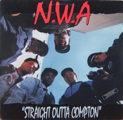 N.W.A. - Straight Outta Compton ( 1st USA VG+/ VG+)