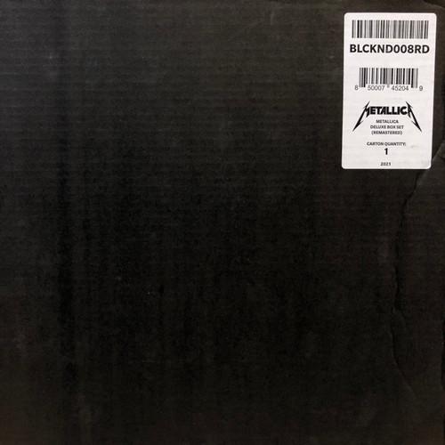 Metallica - Metallica (Deluxe Edition Boxset)