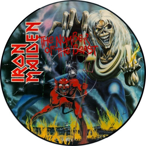 Iron Maiden - The Number Of The Beast (1982 Original NM)