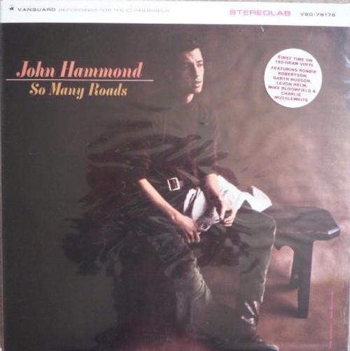 John Paul Hammond - So Many Roads (Cisco Limited Edition NM/NM)