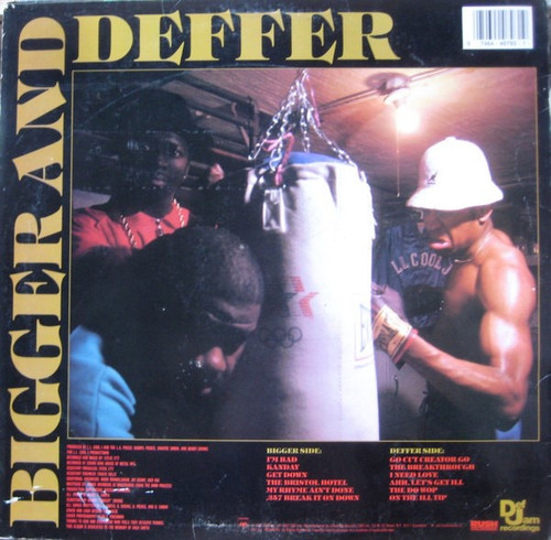 LL Cool J - Bigger And Deffer (BAD) (VG+/VG+)