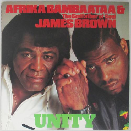 "Afrika Bambaataa & The Godfather Of Soul James Brown – Unity  (12"" single)"