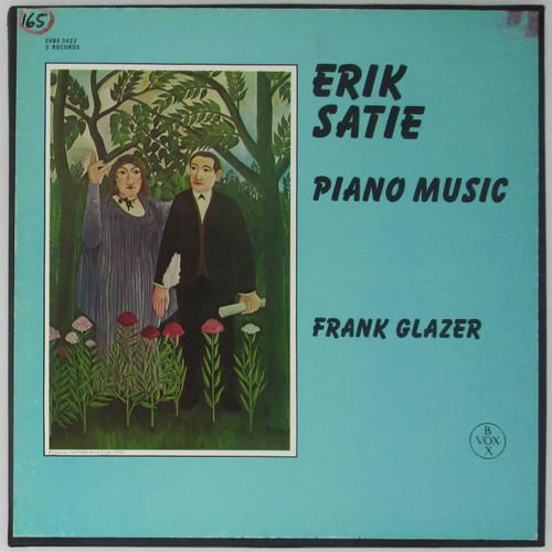 Erik Satie, Frank Glazer – Piano Music (box set 3 LPs)