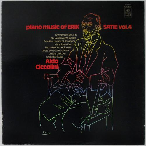 Aldo Ciccolini – Piano Music Of Erik Satie, Vol. 4