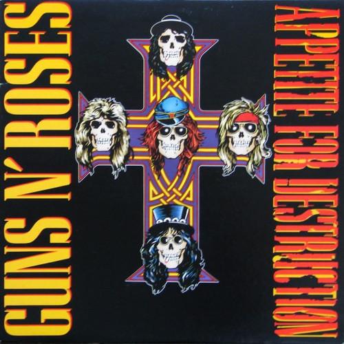 Guns N' Roses - Appetite For Destruction (1st pressing NM)