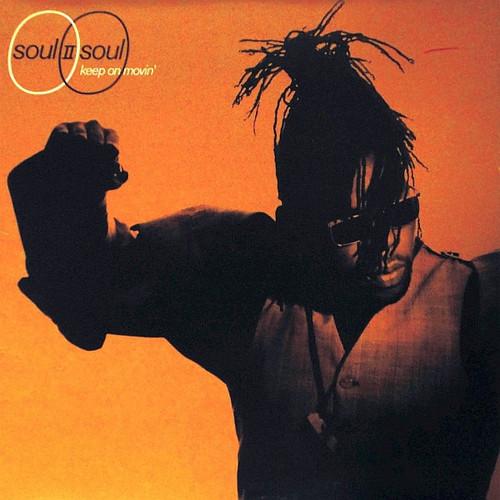 Soul II Soul - Keep On Movin (1989 1st pressing VG/VG+)