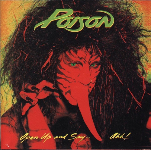 Poison - Open Up And Say....Ahh! (1988 first pressing/NM vinyl