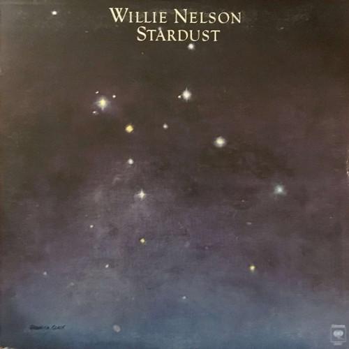 Willie Nelson - Stardust (NM vinyl / Hype Sticker)