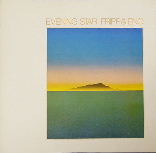 Fripp & Eno - Evening Star (VG+/NM)