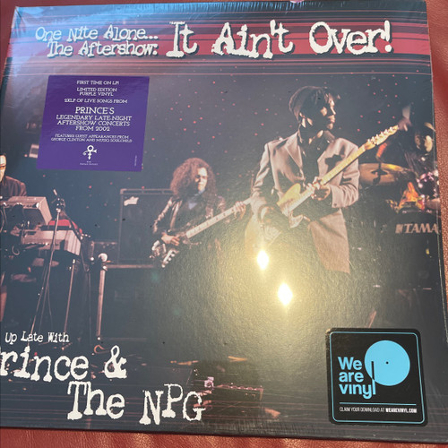 Prince - One Nite Alone... The Aftershow: It Ain't Over! (Up Late With Prince & The NPG)