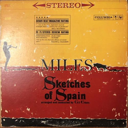 Miles Davis - Sketches Of Spain (1963 2 Eye VG/VG)