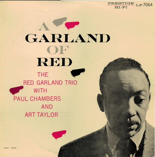 The Red Garland Trio With Paul Chambers And Art Taylor - A Garland Of Red (Japan)