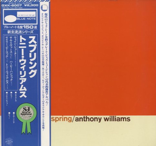 Anthony Williams - Spring (1977 Japanese Import - King Pressing NM)