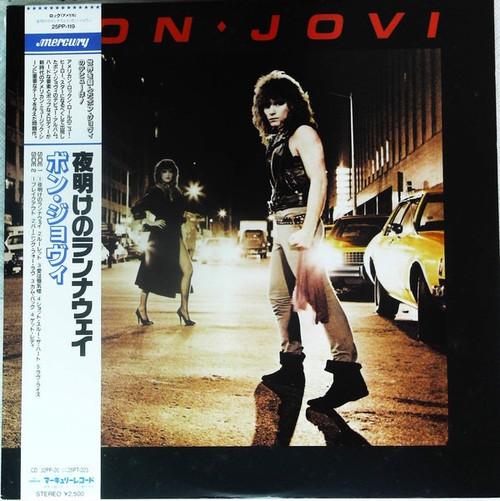 Bon Jovi - Bon Jovi (1984 Japanese Import NM)