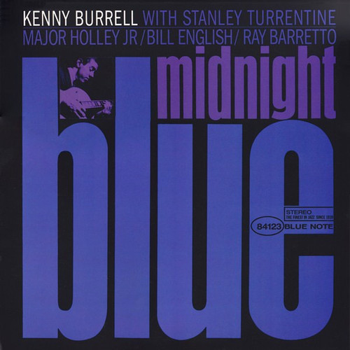 Kenny Burrell - Midnight Blue ( 45 RPM  Numbered Analogue Productions)