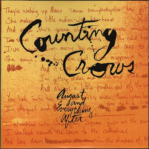 Counting Crows - August And Everything After (Sealed Out of Print)