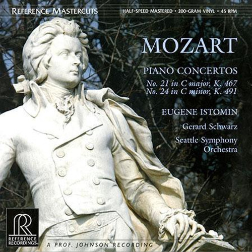Wolfgang Amadeus Mozart - Piano Concertos No. 21 & 24 (Reference Recordings Half Speed Master - 180g - 45 RPM )