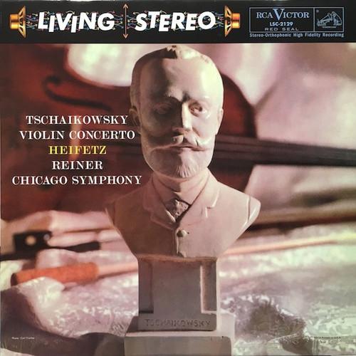 Heifetz/Reiner Pyotr Ilyich Tchaikovsky - Violin Concerto (Analogue Productions 200g)