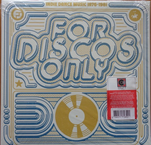 Various - For Discos Only (5 LP Set - Indie Dance Music From Fantasy & Vanguard Records 1976–1981)
