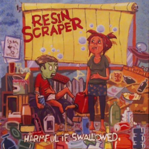 Resin Scraper - Harmful If Swallowed