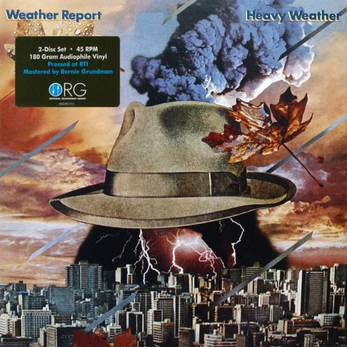 Weather Report - Heavy Weather (ORG 45 RPM Numbered Audiophile Pressing )