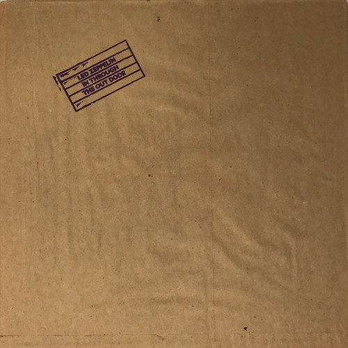 Led Zeppelin - In Through The Out Door (US B Cover NM)