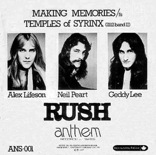 Rush - Making Memories (ANS-001 original)