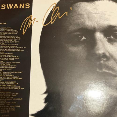 """Swans Failure/Animus 10""""- autographed"""
