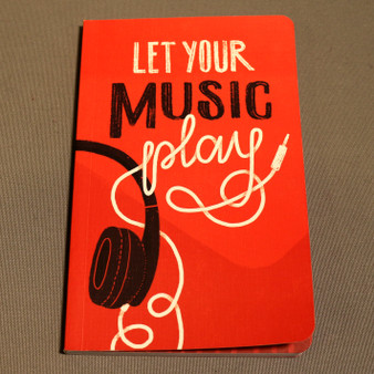 """""""Let Your Music Play"""" Journal"""