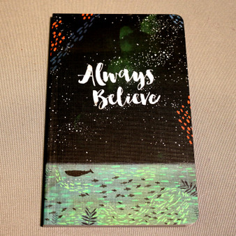 """Always Believe"" Journal"