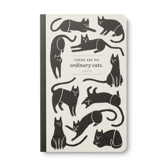 """THERE ARE NO ORDINARY CATS.""—COLETTE Journal"